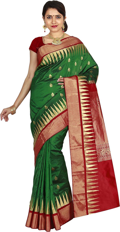 Indian Silks Kanjivaram Handloom Pure Silk Saree(IS387)