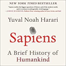 sapiens a brief history of humankind audible