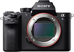 Sony a7S II ILCE7SM2/B 12.2 MP E-mount Camera with Full-Frame Sensor, Black (Renewed)