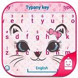 Kitty Face Theme&Emoji Keyboard