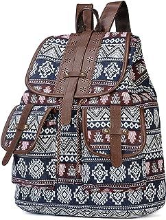 Women Backpack Multicolor Blue Navy Everyday Bag Shoulder Bag