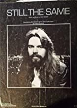 Bob Seger - Still The Same - Sheet Music - Vocals / Piano / Chords