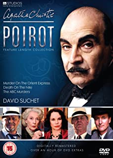 Agatha Christie's Poirot: Feature Length Collection (Digitally Re-mastered) [DVD] [Import anglais]