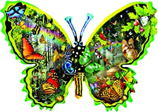 Butterfly Migration 1000 pc Special Shaped Jigsaw Puzzle by SUNSOUT INC
