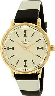 kate spade new york Women's KSW1037 Crosby Analog Display Analog Quartz Black Watch