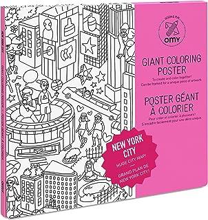 OMY New York City - Jumbo Colouring Poster (70x100cm)