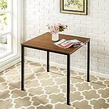 Zinus Umer Modern Studio Collection Soho Square Table, Brown