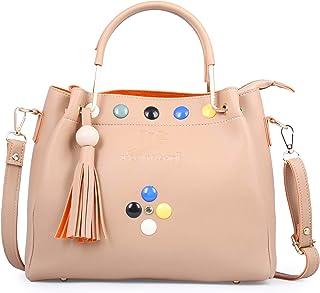 Speed X Fashion Women's Handbag (SMTRT-908_Ivory)