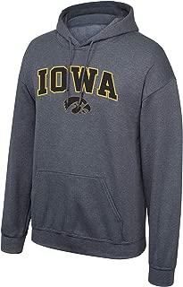 Elite Fan Shop NCAA Mens Dark Heather Arch Hoodie Sweatshirt
