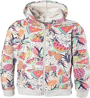 OFFCORSS Big Girls Trendy Sweater Full Zip Up Hoodie Teen Sudaderas para Niñas