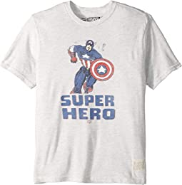 Vintage Tri-Blend Super Hero Tee (Big Kids)