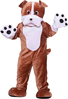 Forum Deluxe Plush Bulldog Mascot Costume