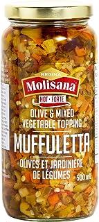 Regina Molisana Hot Muffuletta, Glass Jar, 500 milliliters