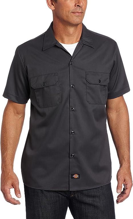 Dickies Short Sleeve Slim Work Shirt Camisa para Hombre