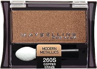 Maybelline New York Expert Wear Eyeshadow Singles, Copper Craze 260s, 0.09 Ounce
