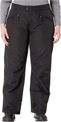 Plus Size Toboggan Insulated Pants