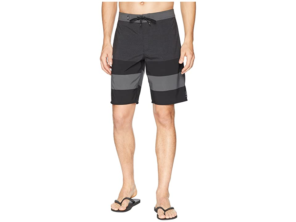 Vans Era Stretch Boardshorts 20 (Black Micro Stripe) Men