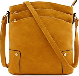 Best mustard yellow leather purse Reviews