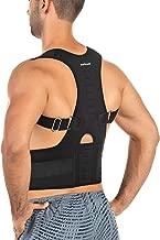 softcell Posture Correction Back Brace - Adjustable Posture Corrector for Men and Women - for Posture Correction and Lumbar Support - Supports Lower and Upper Back