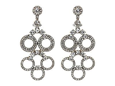 J.Crew Regal Jewel Earrings (Crystal) Earring