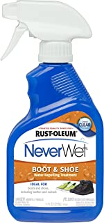 Rust-Oleum 280886 NeverWet 11-Ounce Boot and Shoe Spray, Clear