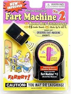 T.J. Wisemen Remote Control Fart Machine No. 2 Funny Gag Gift Joke Prank