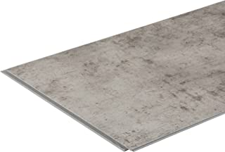 Interlocking Vinyl Wall Tile by DumaWall - Waterproof, Durable Backsplash Panels for Kitchen, Bathroom, or Shower (Dusky Shale)(Sample)
