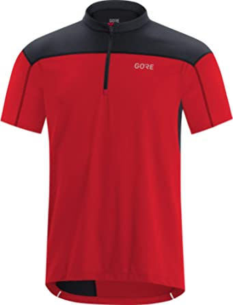 GORE WEAR Heren Wear C3 Jerseys, rood/zwart, XL EU