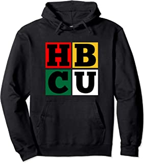 HBCU Block Letters Grads Alumni Pullover Hoodie