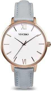 Vincero The Eros Dial Leather Strap Ladies Watch RG-GRA-E08