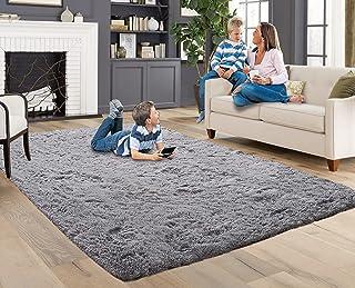 ACTCUT Super Soft Indoor Modern Shag Fur Area Rugs Fluffy Rugs Anti-Skid Shaggy Kids Rug Dining Room Home Bedroom Carpet F...