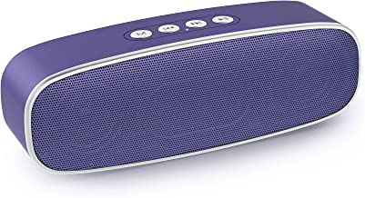 【Upgraded】 Wireless Bluetooth Speakers, EWANTIC 2nd Gen Bass Portable Speakers with Advanced V5.0+EDR Tech, 300ft Wireless... photo