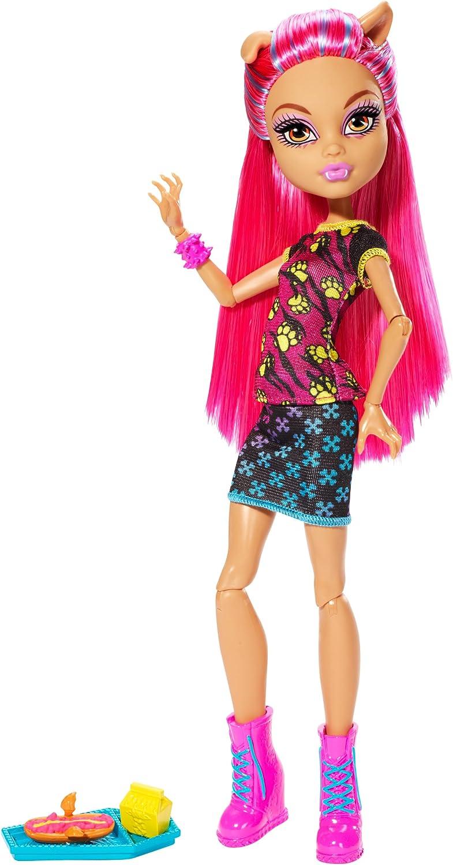 Classic Monster High Creepateria Wolf Doll Over item handling Howleen