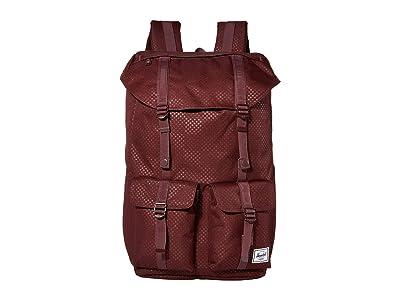 Herschel Supply Co. Buckingham (Plum Dot Check) Backpack Bags