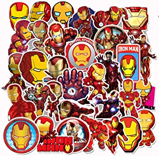 Best iron man stickers for laptops Reviews