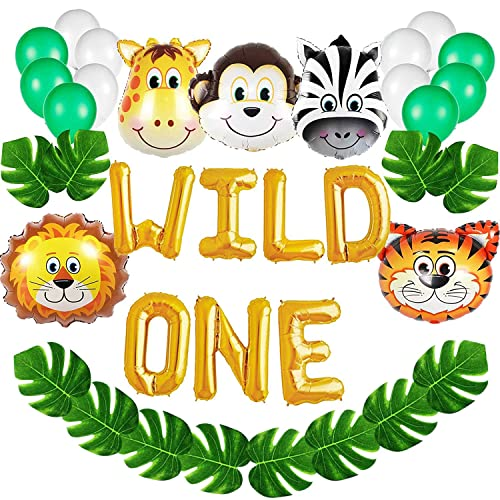 Party Animal 1st Birthday First Birthday Ideas: Safari Jungle Birthday Party Supplies: Amazon.com