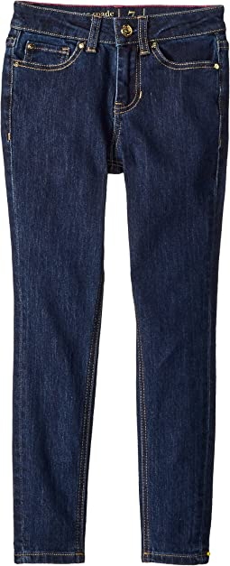 Kate Spade New York Kids Skinny Jeans in Denim Indigo (Big Kids)