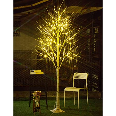 Lightshare 8Ft 600L LED Cherry Blossom City Tree Renewed Home Garden/&City Decoration,Wedding,Birthday,Christmas,Festival,Party Indoor and Outdoor Use,Warm White