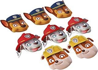 American Greetings Paw Patrol Party Supplies Paper Character Masks, 8-Count