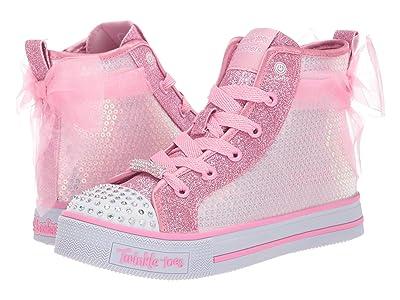 SKECHERS KIDS Twinkle Lite Ms. Sparkle Beauty 20219L (Little Kid/Big Kid) (Pink) Girl