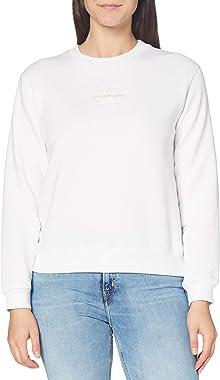 Calvin Klein Jeans Monogram Logo Crew Neck Sweater Femme