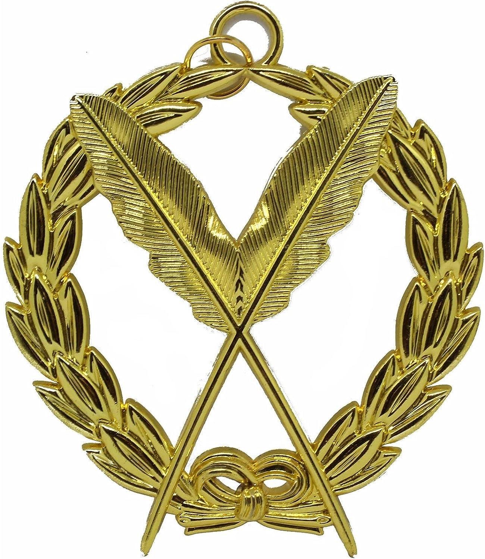 Masonic Collar Grand Lodge Jewel - Secretary