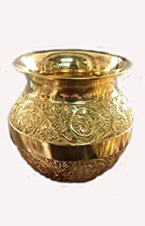 Mirza Elevation Brass Pooja Kalash/Lota/Pooja Items for Home