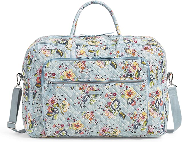 Vera Bradley Iconic Grand Weekender Travel Bag - Unique Gift Ideas For 17 Year Old Female Teenage Girl