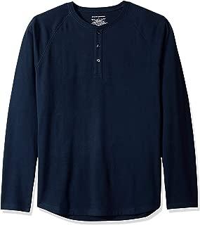 Men's Regular-Fit Long-Sleeve Henley Shirt