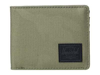 Herschel Supply Co. Roy RFID (Dusty Olive/Tonal Camo) Wallet Handbags