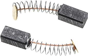 vhbw 2X koolborstel motorkolen slijpkolen 12 x 6 x 5 mm compatibel met Hitachi WR 14DM, WR 14DMR, WR 18DL, WR 18DMR, WR 8D...