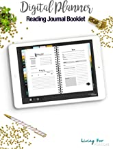 Reading Journal Booklet for your digital Notebook (Goodnotes): Plan your Day and reach your Goals