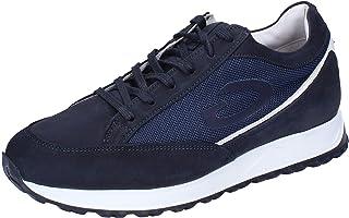 GUARDIANI Sneaker Uomo Pelle Nubuck Blu