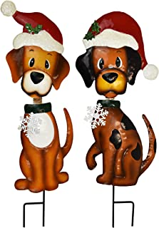 Gift Boutique Christmas Yard Stakes - Outdoor Garden Decorations - Set of 2 30